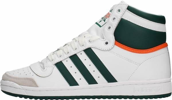 Adidas Top Ten Hi - Blanc Vert Orange (EF2516)