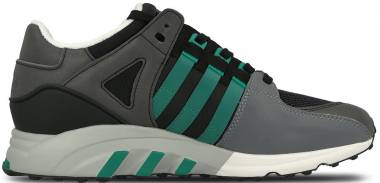 546010b207bd Adidas EQT Running Support Core Black-sub Green-chalk White Men