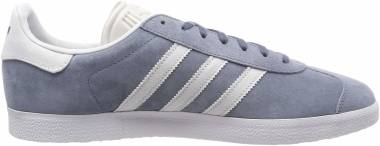 Adidas Gazelle - Grey Raw Steel S18 Crystal White Ftwr White (CM8468)