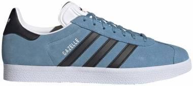 Adidas Gazelle - Hazy Blue/Core Black/Cloud White (FX5480)