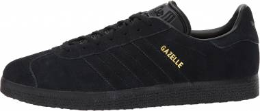 Adidas Gazelle - Black/Black/Metallic Gold