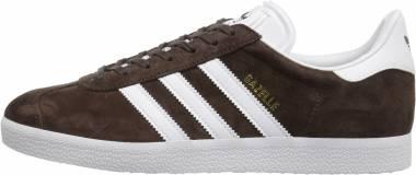 Adidas Gazelle Brown/White/Metallic/Gold Men