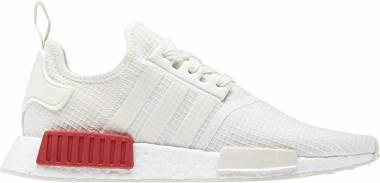Adidas NMD_R1 - Off White Off White Lush Red B37619 (B37619)