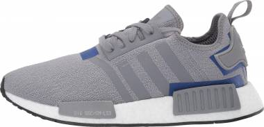 cheap for discount a9fbc a9c08 Adidas NMD R1 Grey Grey Active Blue Men