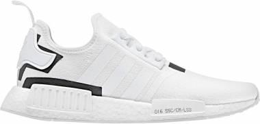Adidas NMD_R1 - White/White/Black (BD7741)