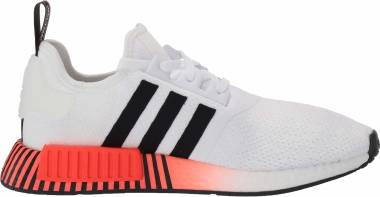 Adidas NMD_R1 - Ftwr White Core Black Solar Red (FV3648)