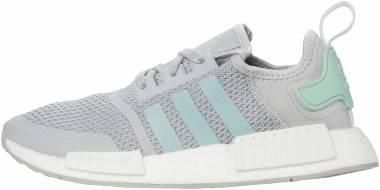 Adidas NMD_R1 - Grey Blush Green Footwear White (FV9152)