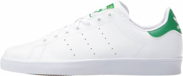 the latest 69f5c 7f1be Adidas Stan Smith Vulc WhiteWhiteGreen