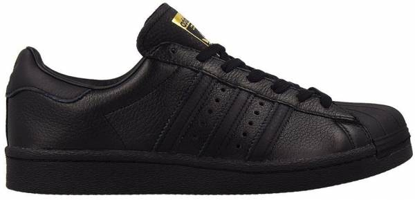 adidas superstar black black black