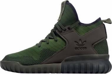 Adidas Tubular X Primeknit - Green (S76713)