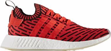 Adidas NMD_R2 Primeknit - Red (BB2910)