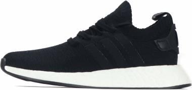 Adidas NMD_R2 Primeknit - Black Black Future Harvest (BB6859)