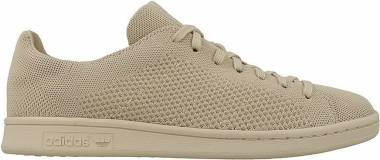 Adidas Stan Smith Primeknit - Beige Clay Brown Clay Brown Clay Brown