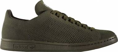 Adidas Stan Smith Primeknit - Grey (Night Cargo/Night Cargo/Night Cargo)