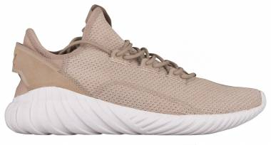 Adidas Tubular Doom Sock Primeknit - Beige (BY3562)