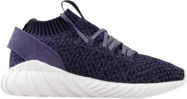 Adidas Tubular Doom Sock Primeknit - Purple Core Black Footwear White