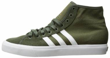 Adidas Matchcourt High RX - Olive Cargo/White/Base Green (BY3992)