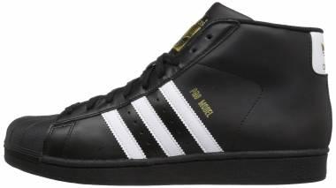Adidas Pro Model - Cblack Ftwwht Goldmt