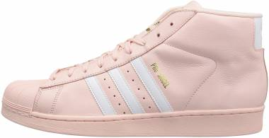 Adidas Pro Model - Ice Pink/White/Gold Metallic