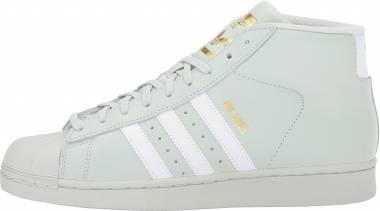 Adidas Pro Model - Linen Green White Gold Metallic