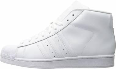 Adidas Pro Model - White/White/White