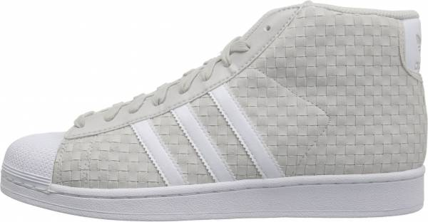 Adidas Pro Model - Grey/White/Grey
