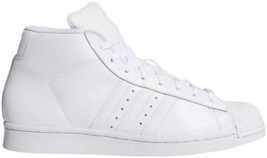 Adidas Pro Model - White/White/White (FY1852)