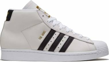Adidas Pro Model - Ftwr White Core Black Gold Met (FV4695)