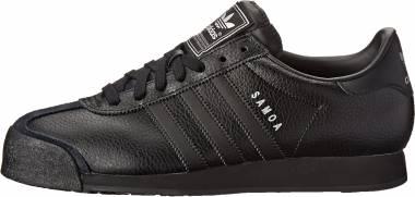Adidas Samoa - Black/Black/Metallic Silver