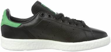 Adidas Stan Smith Boost - Black Core Black Core Black Green 0
