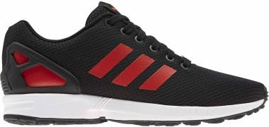 Adidas ZX Flux - Core Black Hi Res Red S18 Ftwr White (EG5407)