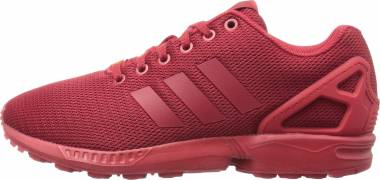 adidas zx flux reflective rosse