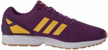 Adidas ZX Flux - Glory Purple Spring Yellow Ftwr White (EG5408)
