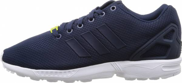 Unisex Adidas Zx Flux Breathable Running Shoes Orderly Price Blue White Casual