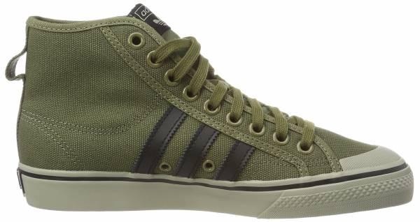buy popular e9f3f aa568 Adidas Nizza Hi Green