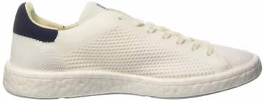 Adidas Stan Smith Boost Primeknit - Bianco (Footwear White/Footwear White/Collegiate Navy)