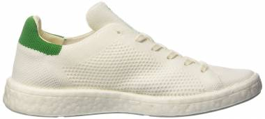 Adidas Stan Smith Boost Primeknit Blanc (Footwear White/Footwear White/Green) Men