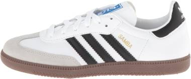 Adidas Samba - White/Core Black/Clear Granite