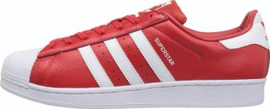 Adidas Superstar Red / White / Poppy Men