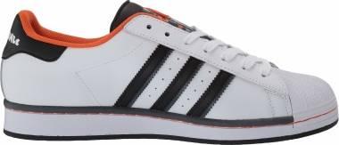 Adidas Superstar - White/Black/Orange (FV8271)