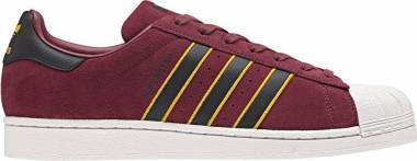 Adidas Superstar - Red/Core Black/Yellow