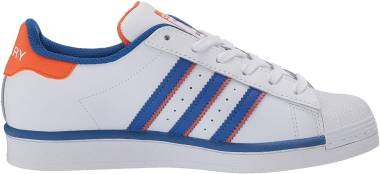 Adidas Superstar - White/Blue/Orange (FV2807)