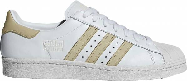 Adidas Superstar 80s - Wit (CG7085)