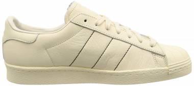 Adidas Superstar 80s - Beige/Cream White/Cream White (B38000)