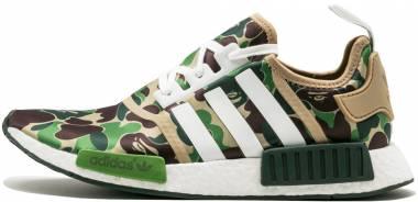 BAPE x Adidas NMD_R1 - Green