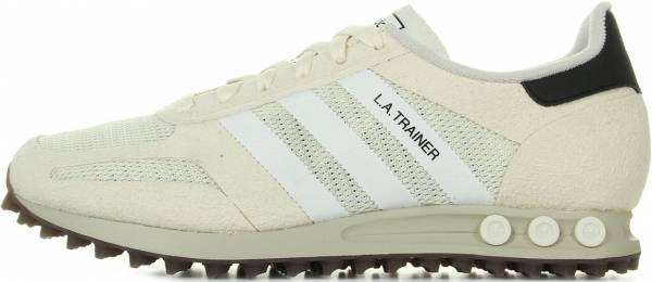 Comfort adidas Originals LA Trainer Mens in Vintage White
