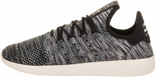 5521365e6 Pharrell Williams Tennis Hu Primeknit Chalk White-core Black-footwear White