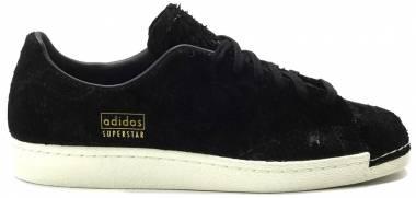the latest fb58d e7ea3 Adidas Superstar 80s Clean Black Men