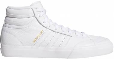 Adidas Matchcourt High RX2 - Footwear White/Footwear White/Gold Metallic (CQ1122)