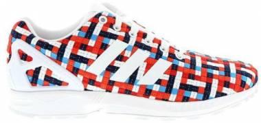 Adidas ZX Flux Woven - Bleu Rouge Blanc
